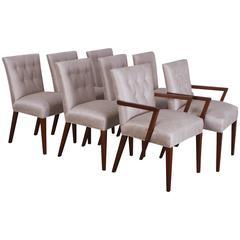 Set of Eight T.H Robsjohn-Gibbings Modern Originals Chairs