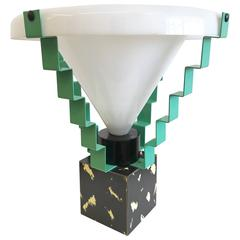 Rare Glastonbury Lamp Designed by George Sowden, 1983