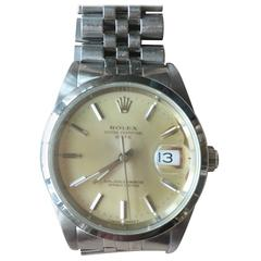 Rolex Oyster Stainless Steel Perpetual Wristwatch