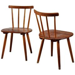 Pair of Tubinger Chairs by Adolf G. Schneck, Germany, 1930s