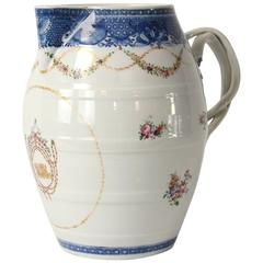 Very Fine Chinese Export Cider Pitcher