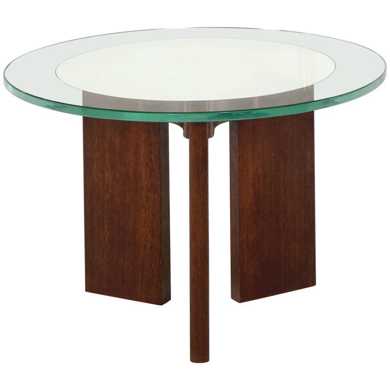 Pietro Chiesa Rare Coffee Table By Fontana Arte At 1stdibs