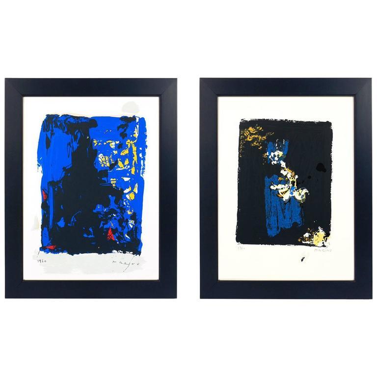 Pair of Marino Marini Lithographs