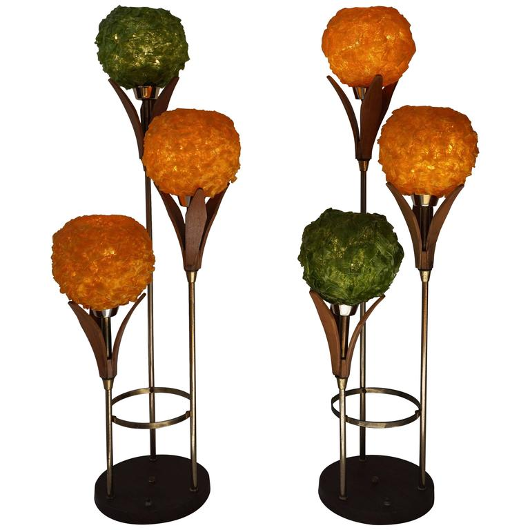 Two Floor Lamps For Sale