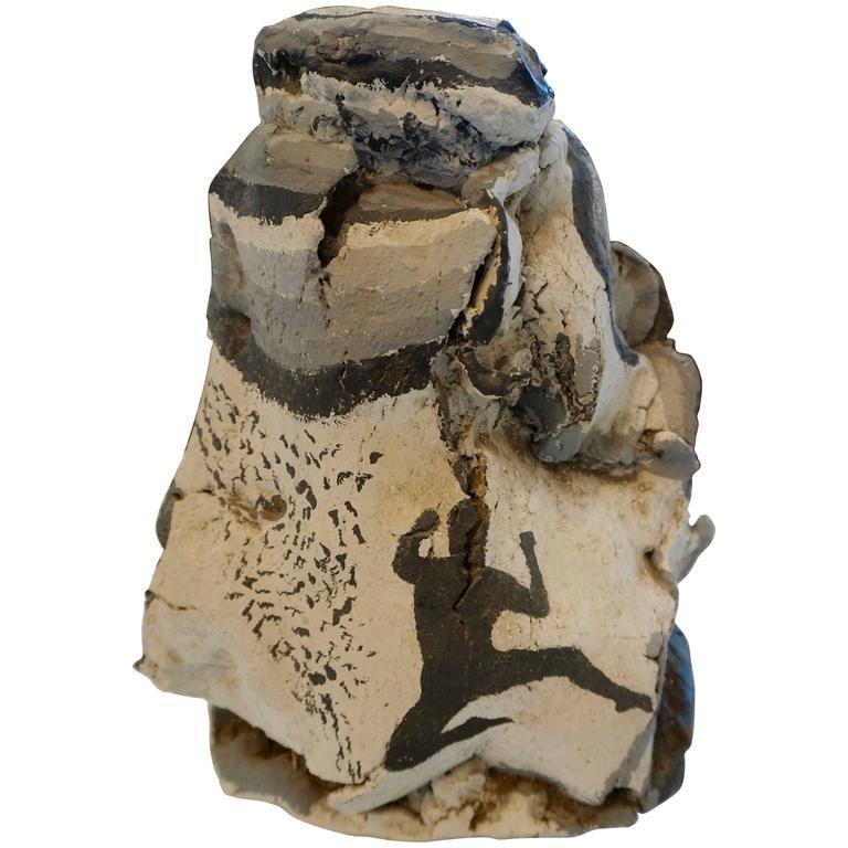 Hand-Painted Ceramic Vase 1