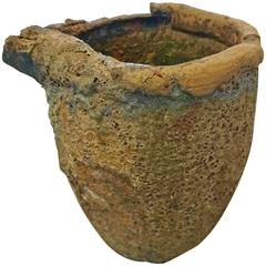 Volcanic Lavarock Smelting Crucible Planter