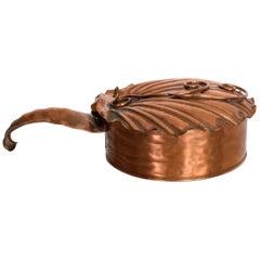 Vintage Gregorian Copper Silent Butler Flip-Top Crumb Catcher, 1960s