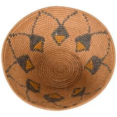 Antique Native American Basket Bowl