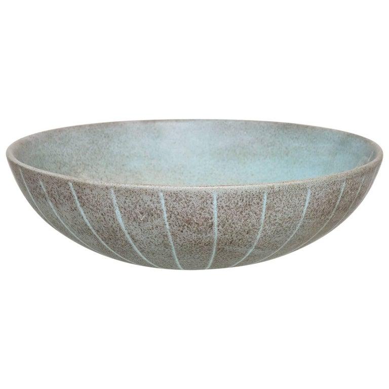Vintage Danish Ceramic Bowl, 1950s