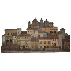 Old Theatre Scenography with Town - FINAL CLEARANCE SALE
