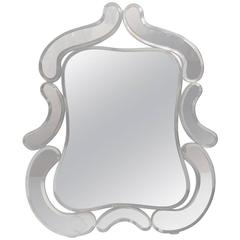 Unusual Diminutive Venetian Mirror
