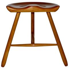 Wooden Stool with Three Legs circa 1933