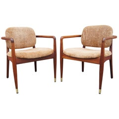 American Walnut Armchairs