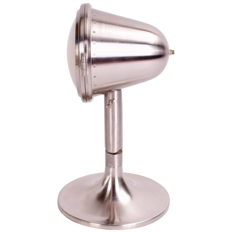 Chrome Industrial Table Lamp For Sale At 1stdibs