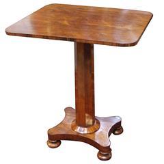 19th Century Rectangular Victorian Side Table