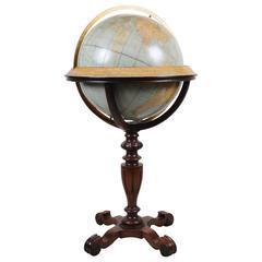 Rand McNally Terrestrial Floor Globe, 1924