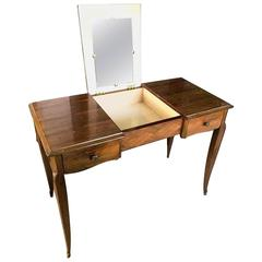 Art Deco Writing Desk Table and Coiffeuse, France