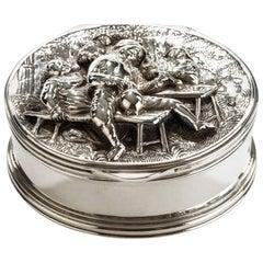 19th century Silver Snuff Box