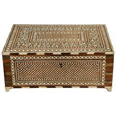 Anglo-Indian Vizagapatam Sewing Box