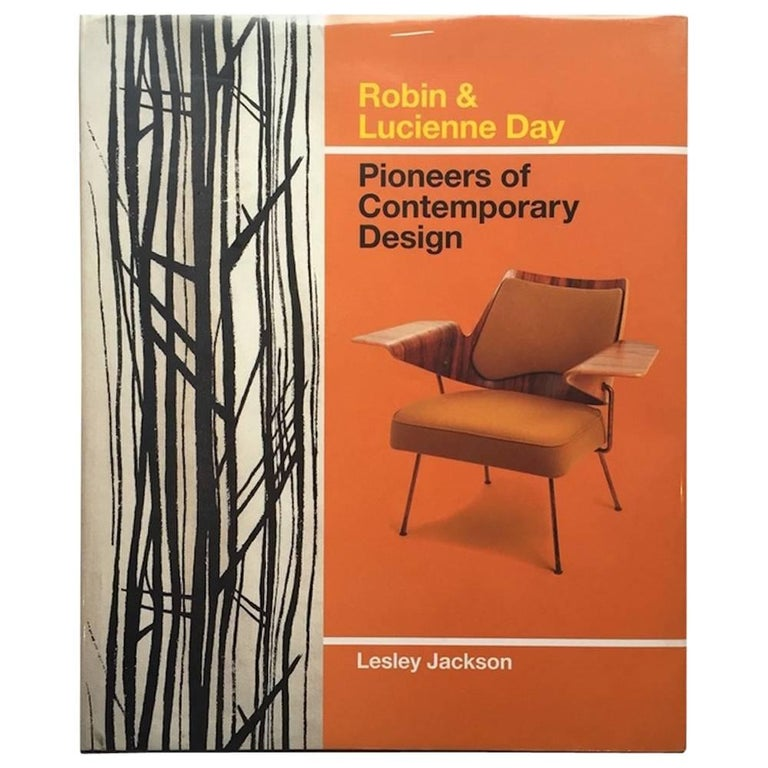 """Robin & Lucienne Day, Pioneers of Contemporary Design"" Book For Sale"