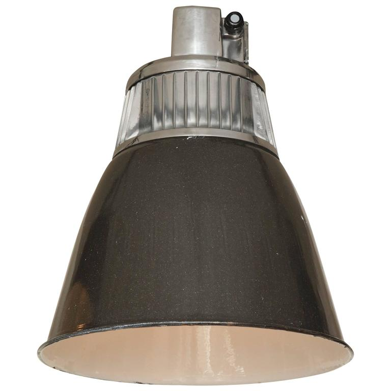 Czech Down-Lighter Pendant Light For Sale