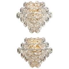 Glamorous Vintage Kinkeldey Crystal Sconces