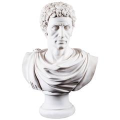 Stunning Marble Bust Marcus Junius Brutus