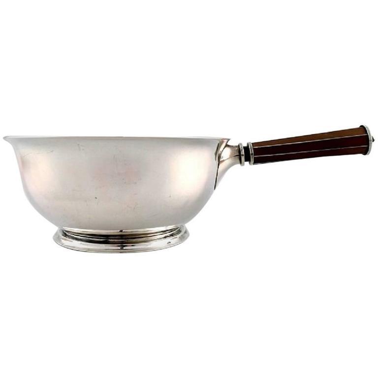 Jens Sigsgaard, Silver Saucepan, Denmark, 1940s For Sale