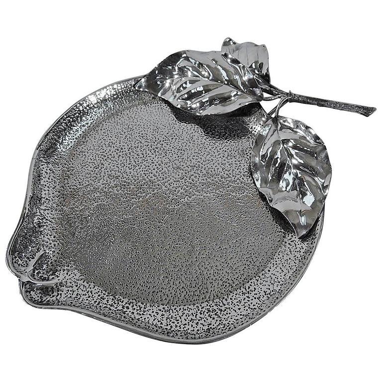 Buccellati Italian Sterling Silver Apple Bowl