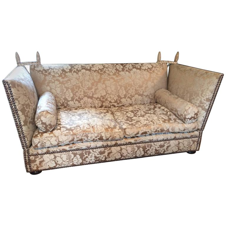 Sumptuous Oversized George Smith Knole Sofa For