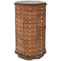 Pine Octagonal Dry Goods Cabinet