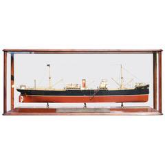 Builder's Model of a Cargo Ship
