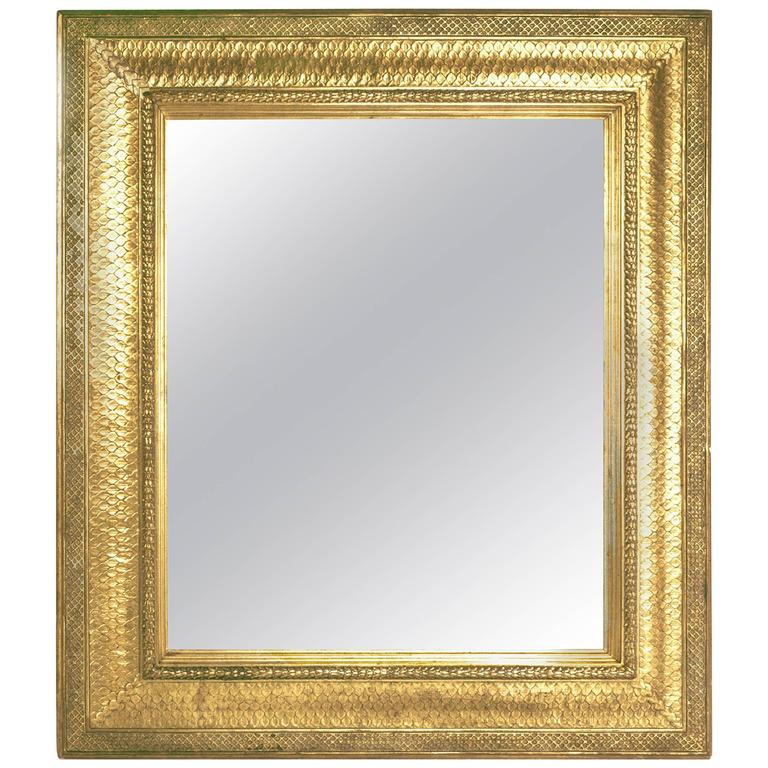 Stanford White Gilded Frame with Mirror For Sale at 1stdibs