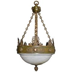 Antique Chandelier, Empire Style