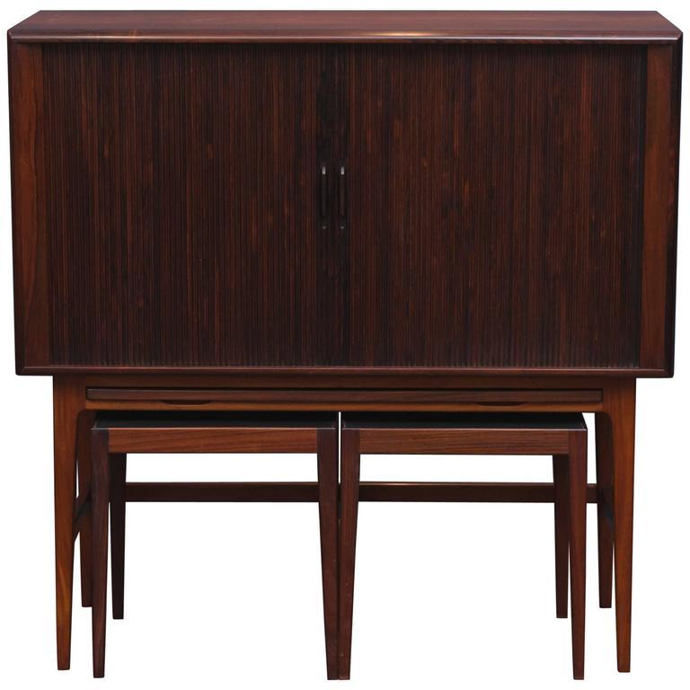 Kurt Ostervig Rosewood Bar Cabinet 1