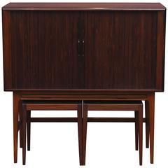 Kurt Ostervig Rosewood Bar Cabinet