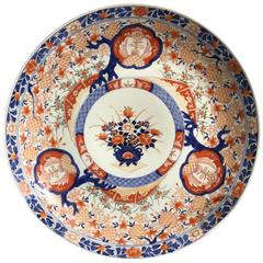 Japanese Meiji Period Imari Charger, Late 19th Century