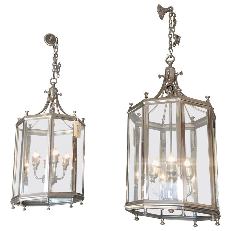 Pair of Lantern Chandeliers
