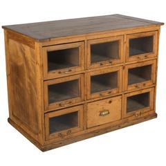 Rustic Country French Pine Cabinet
