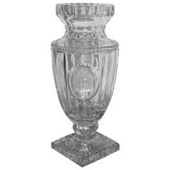 Vase Crystall Bohemia Design, 1950s