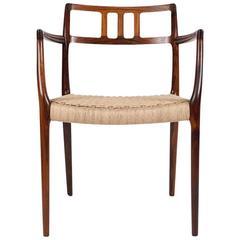 Niels Moller No. 64 Rosewood Armchair