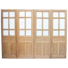Set of Four Pine Room Dividers