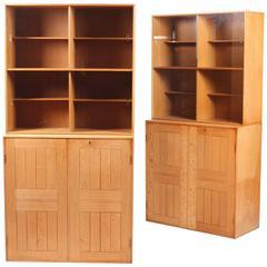 Mogens Koch Bookcases in Oak