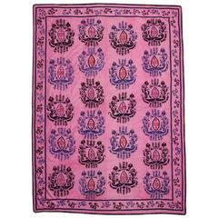 Early 20th Century Samarkand Silk Suzani