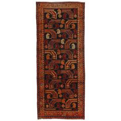 Persian Hamadan Rug with Modern Tribal Style