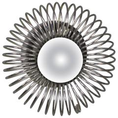 French 1970s Metal Sconce
