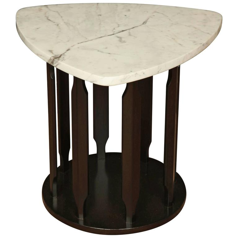 Marble Side Table For Sale