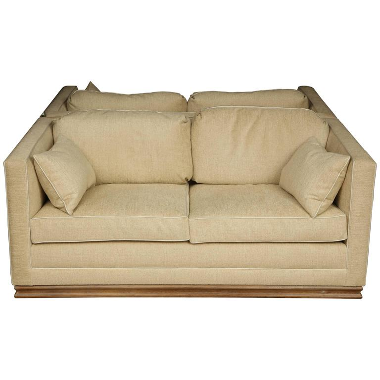 Pair of Settees For Sale