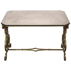 Verdigris Side Table
