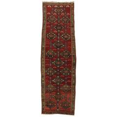 Antique Russian Kurd Karabagh Runner with Traditional Modern Style